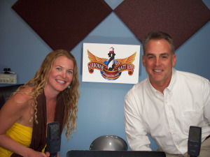Carey Del Ray and Matt Jeffs on Airborne at Eclipse Recording Company