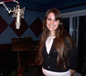 Sarah Fogle at Eclipse Recording Company