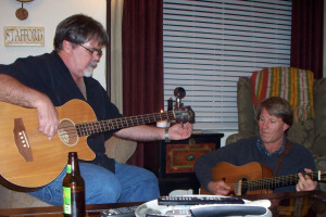 Jim Stafford and Jeff Million at Jim's House Jam