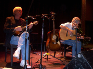 Steve Staain and Gove Scrivenor with Richie Havens in St. Augustine
