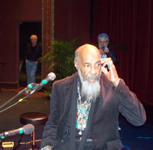 Richie Havens at the sound check photo brought to you by Eclipse Recording Company