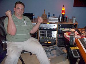 Tom Pisani at Eclipse Recording Company!