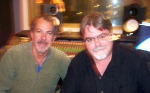 Rob Peck and Jim Stafford at Eclipse Recording Company
