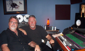 Jim Stafford and Steven Fox at Eclipse Recording Company