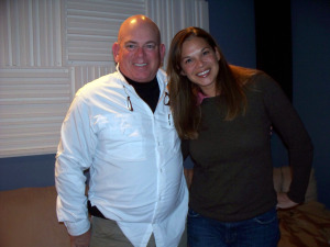 Dan Bagan and Julie Lee at Eclipse Recording Company
