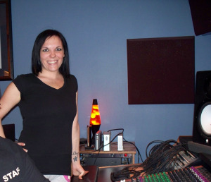 Lindsay Feather at Eclipse Recording company