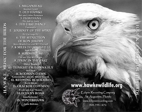 Hawke Music for the Birds Cd from Eclipse Recording Company