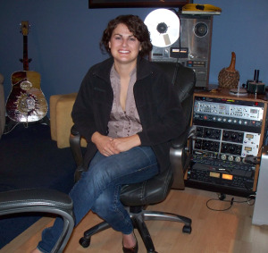 Stacey Hume at Eclipse Recording Company