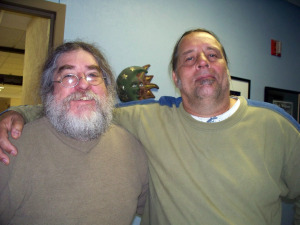 Eddie Pickett and Dave Besley at Eclipse Recording Company