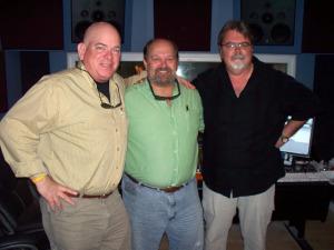 Dan Bagan, Michael Bergeron, Jim Stafford at Eclipse Recording Company