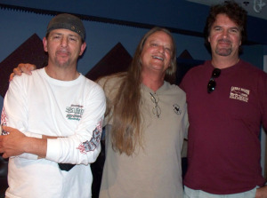 Frankie Urzetta, Steve Bryant and Kurt Johnston at Eclipse Recording Company