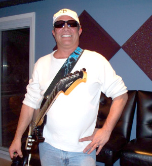 Southern Feather guitarist at Eclipse Recording Company