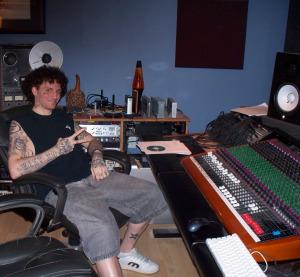 PL Squrd at Eclipse Recording Company (Patrick Lovell)