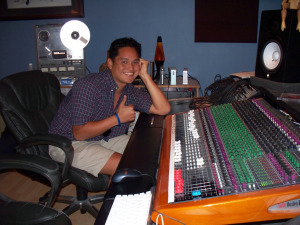 Ben Rowan at Eclipse Recording Company