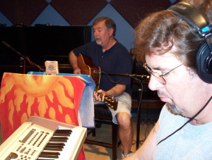 Kurt and Wayne Johston at Eclipse Recording Company
