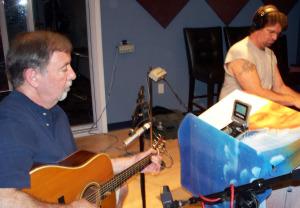 Kurt and Wayne Johnston at Eclipse Recording Company