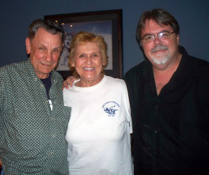 Russell George, Sharon Mull and Jim Stafford at Eclipse Recording Company