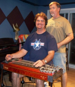 Kurt and Wayne Johnston at Eclipse Recording Company