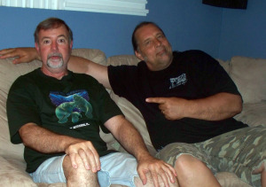 Wayne Johnston  and Dave Besley at Eclipse Recording Company