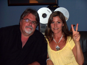 Jim Stafford and Lizzie Hastings at Eclipse Recording Company