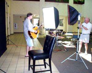 Dan Bagan and Wayne Johnston Photo Shoot at Eclipse