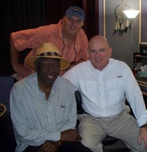 Willie Green , Rick Ambrose and Dan Bagan designing at Eclipse Recording Company