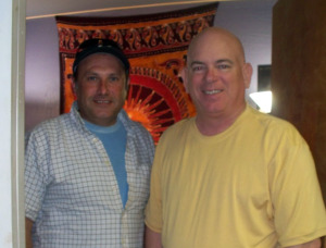 Ed Wagner and Dan Bagan at Eclipse Recording Company