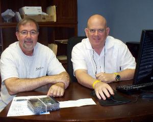 Wayne Johnston and Dan Bagan at Eclipse Recording Company
