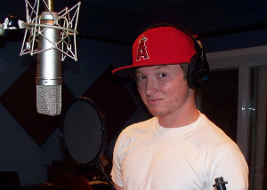 Arron Eades at Eclipse Recording Company