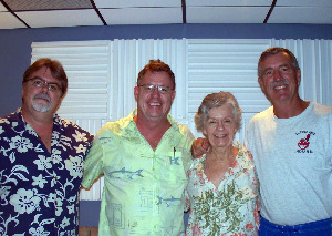 Eclipse Recording Company with Jim Stafford, Stephen Lynch and Family