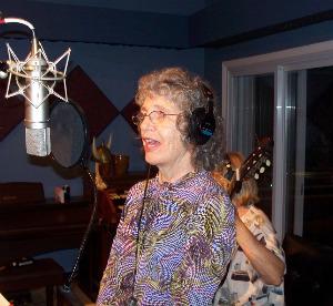 Mary Lee Zamora at Eclipse Recording Company