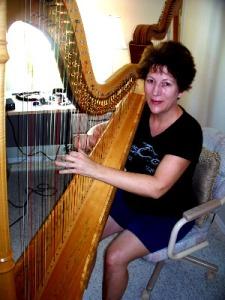 Martha Bush at Eclipse Recording Company