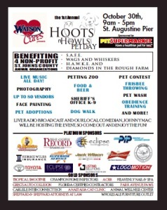 The Hoots and Howls Pet Day! Eclipse Recording Co. will provide the sound for this event