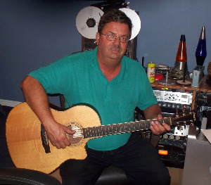 In the studio at Eclipse Recording Company in St. Augustine Florida!