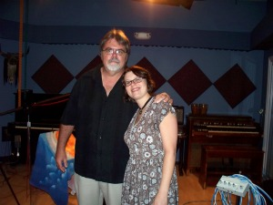 in the studio at Eclipse Recording Company