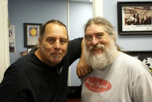 Dave Besley and Eddie Pickett at Eclipse Recording Company