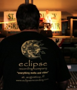 Eclipse Setting up their gear for the St. Johns County Fair
