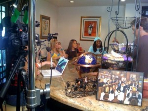 """In Search of Me Cafe"" reality TV Show, filmed by Eclipse Recording Company"