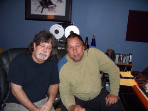Dave Besley of Those Guys and Gove Scrivenor at Eclipse Recording Company