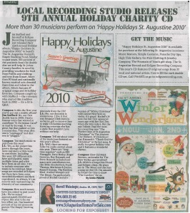 The Compass Magazine article on Eclipse Recording Company's Charity CD Release 2010
