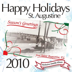 """Happy Holidays St. Augustine"" Holiday Charity from Eclipse Recording Company has just been released, proceeds benefit the Empty Stocking Fund"
