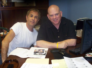 Rick Levy with Dan Bagan at Eclipse Recording Company