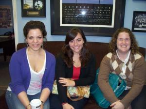Liz Bernstein, Emily Diggs, Rachel Green at Eclipse Recording Company