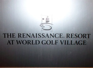 Eclipse Recording Company shooting video at The Renaissance Resort at World Golf Village