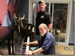 Hurricane Rick Johnson and Eli Grimes at Eclipse Recording Company