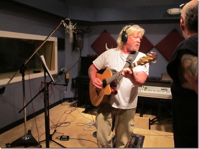 Barefoot Davis recording