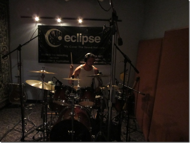 Kevin Eldridge at Eclipse Recording Company