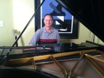 Roger Woods on Piano