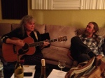 Lis & Lon Williamson on the Boxcar sessions. We got a private performance of her award winning song,F-L-O-R-I-D-A